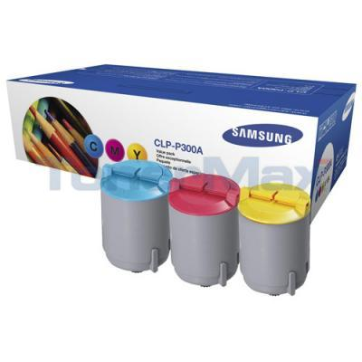 SAMSUNG CLP-300 TONER CARTRIDGE CMY